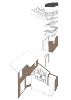House Extension Liverpool - Architectural drawings
