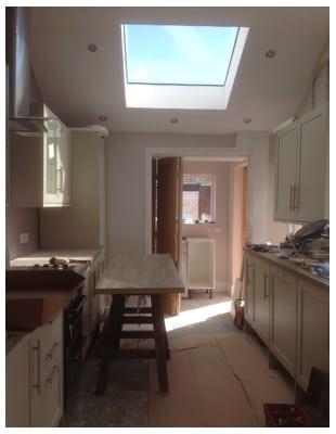 House Extension build